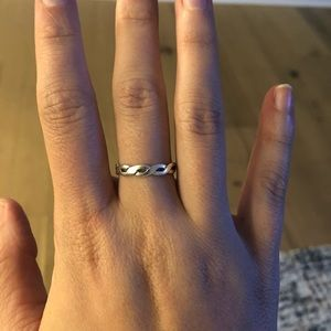 James Avery Twisted Wire Ring - Silver